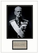 Field Marshal Frederick Roberts Autograph Display - Boer War